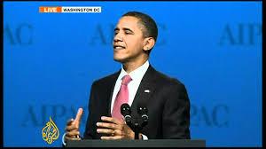 Barak Obama at AIPAC 2012