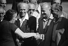 גולדה מאיר ומשה דיין 5 נובצבר 1973