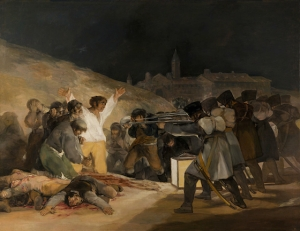 Museo del Prado, Madrid) 3 May 1808 by Francisco Goya