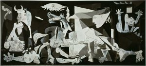 (La Guernica by Pablo Picasso (Courtesy www.pablopicasso.org)