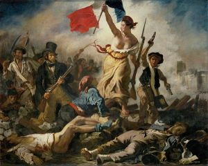 Liberty Leading the People Eugin Delacroix Courtesy by: Wikipedia