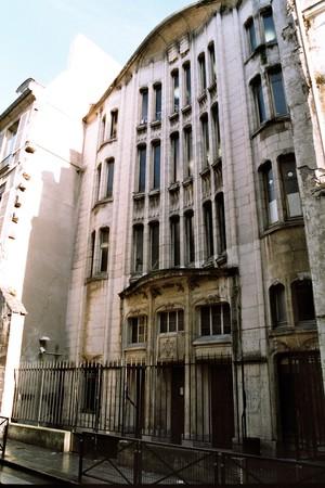 synagogue rue da la pavee