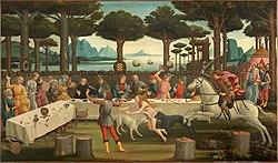סנדרו בוטיצ'לי דקאמרון 1487