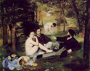ארוחת בוקר על הדשא, אדואר מאנה 1862-1863