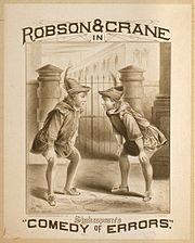 קומדיה של טעויות מאת ויליאם שיקדפיר 1879